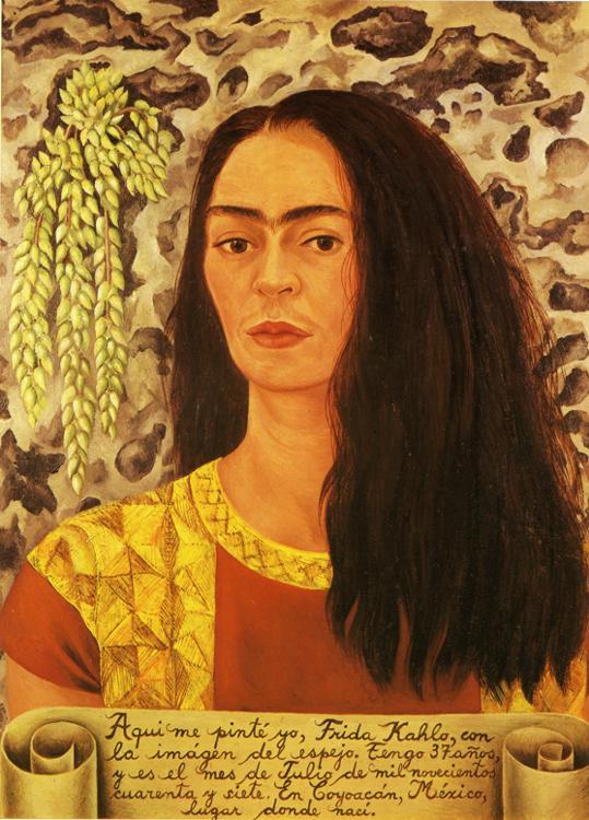 frida-kahlo-self-portrait-with-loose-hair